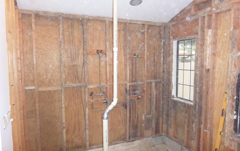 golden construction services - demolition of bathroom in tampa bay - Pinellas, Hillsborough, Pasco